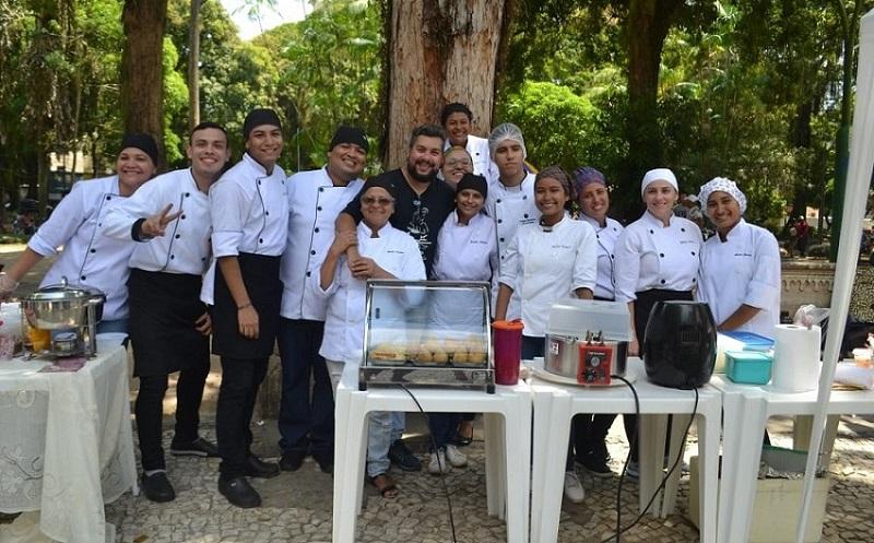 Esamaztec realiza III Feira Gastronômica na Praça Batista Campos em Belém