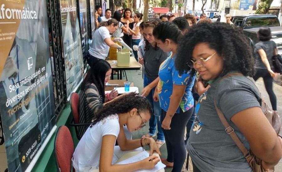 Esamaztec recebe ponto de vacinação em campanha contra o Sarampo realizada pela SESMA
