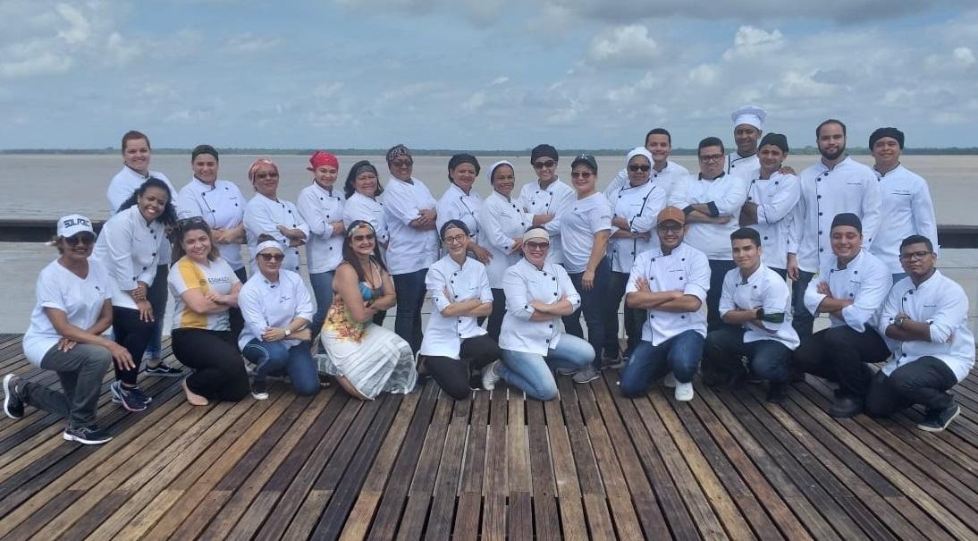 Alunos do curso de Gastronomia participaram da 2ª Edição do Circuito Gastronômico da Esamaztec