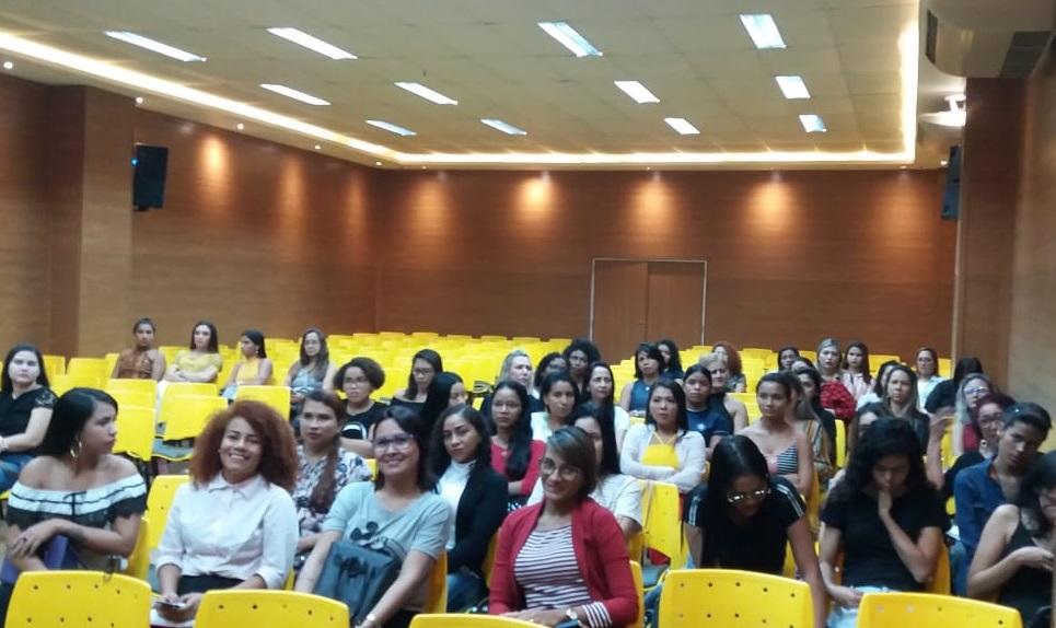 O curso Técnico em Estética da Esamaztec promoveu o I Ciclo de Palestras em Estética na Esamaz