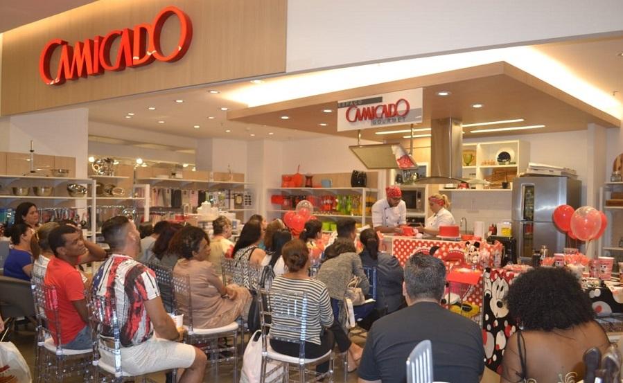Alunos de Gastronomia da Esamaztec dão Aula Show no Shopping Pátio Belém